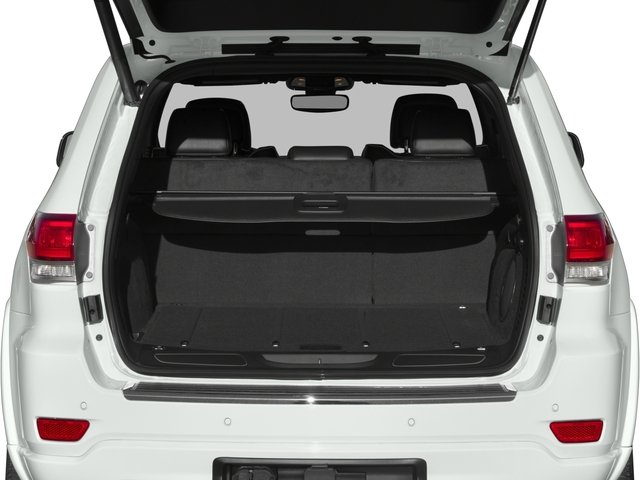 2017 Jeep Grand Cherokee Base Price Overland 4x2 Pricing open trunk