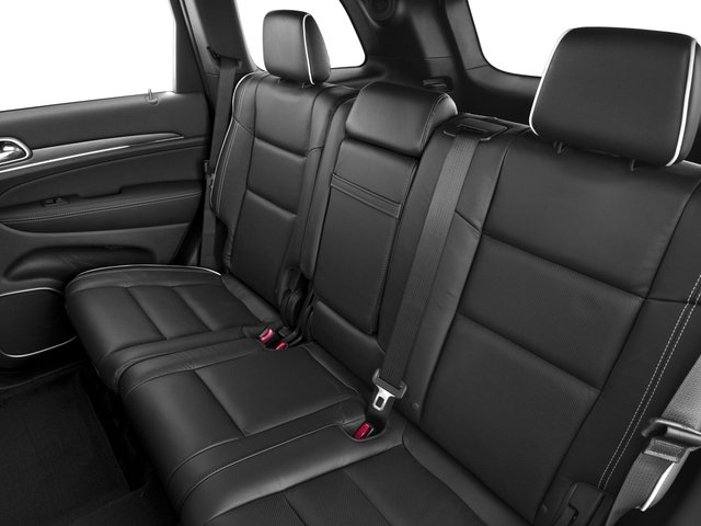 2017 Jeep Grand Cherokee Base Price Overland 4x2 Pricing backseat interior