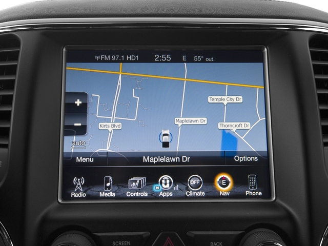 2017 Jeep Grand Cherokee Base Price Overland 4x2 Pricing navigation system