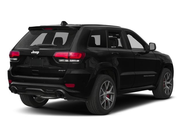2017 Jeep Grand Cherokee Pictures Grand Cherokee SRT 4x4 photos side rear view