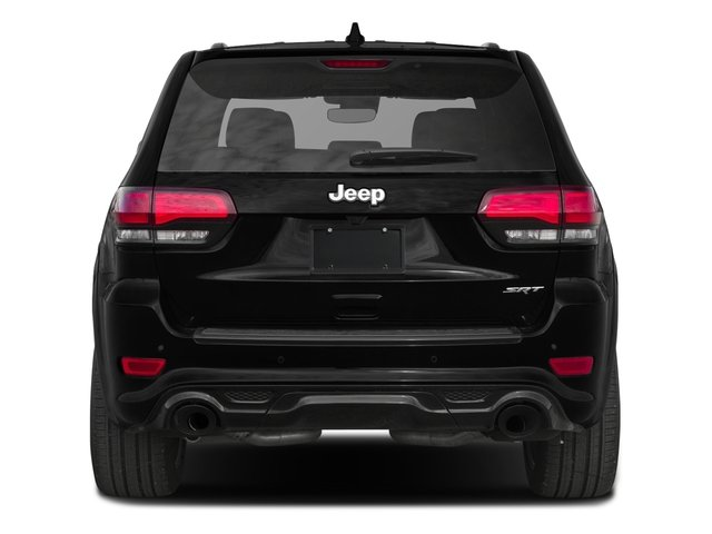 2017 Jeep Grand Cherokee Pictures Grand Cherokee SRT 4x4 photos rear view