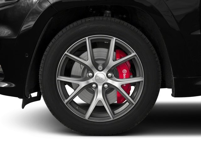 2017 Jeep Grand Cherokee Pictures Grand Cherokee SRT 4x4 photos wheel