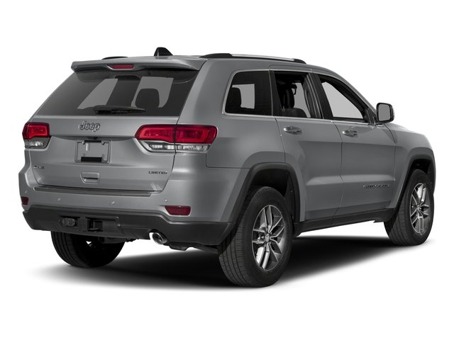 2017 Jeep Grand Cherokee Prices and Values Utility 4D Limited 4WD side rear view