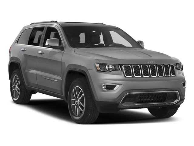 2017 Jeep Grand Cherokee Prices and Values Utility 4D Limited 4WD side front view