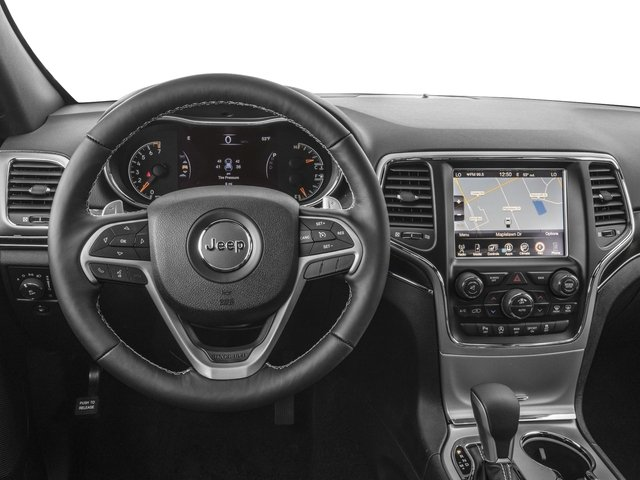 2017 Jeep Grand Cherokee Prices and Values Utility 4D Limited 4WD driver's dashboard