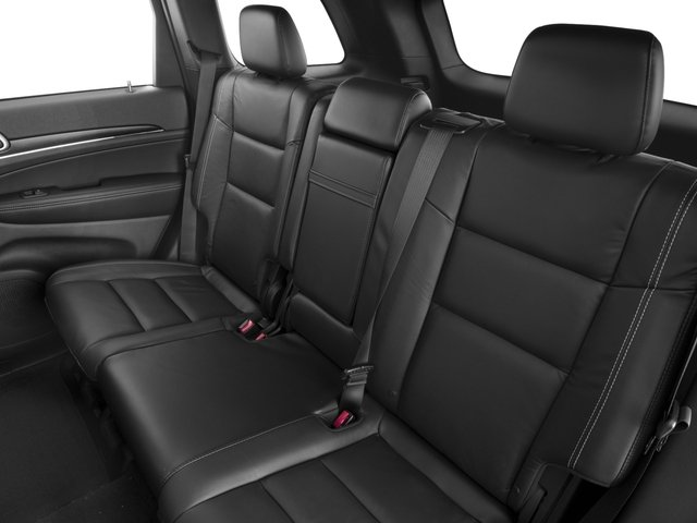 2017 Jeep Grand Cherokee Prices and Values Utility 4D Limited 4WD backseat interior
