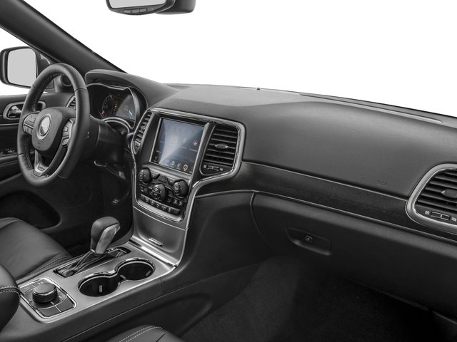 2017 Jeep Grand Cherokee Prices and Values Utility 4D Limited 4WD passenger's dashboard