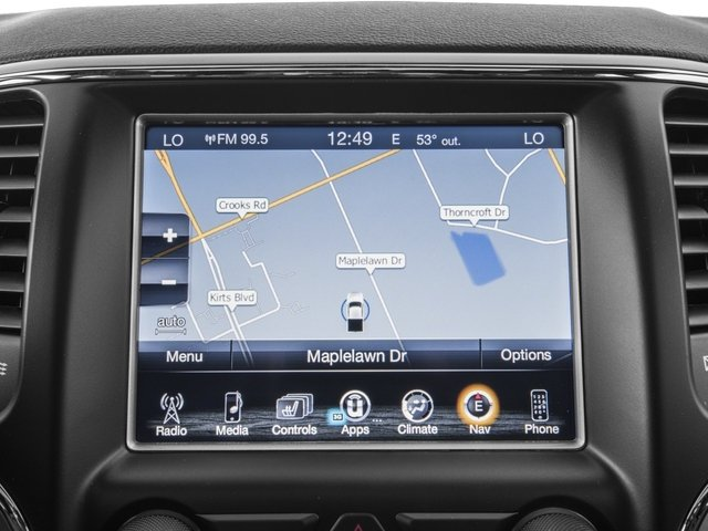 2017 Jeep Grand Cherokee Prices and Values Utility 4D Limited 4WD navigation system