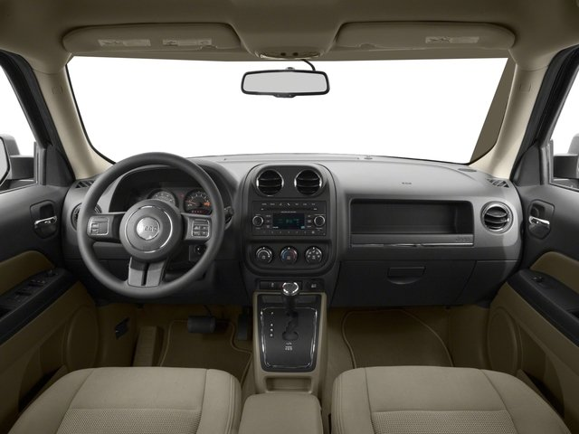 2017 Jeep Patriot Prices and Values Utility 4D Sport 4WD I4 full dashboard