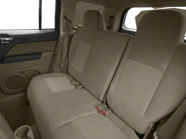 2017 Jeep Patriot Base Price High Altitude 4x4 Pricing backseat interior