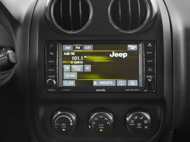 2017 Jeep Patriot Base Price High Altitude 4x4 Pricing navigation system