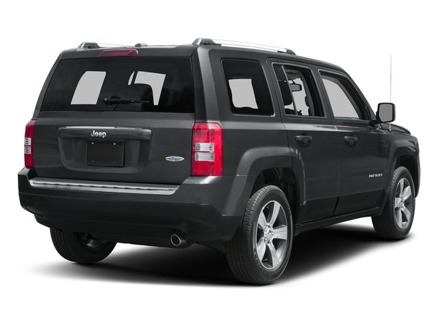 2017 Jeep Patriot Base Price Latitude FWD Pricing side rear view