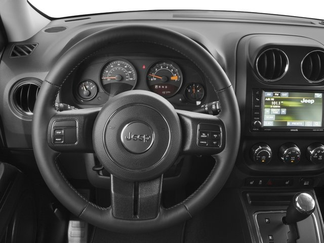 2017 Jeep Patriot Base Price Latitude FWD Pricing driver's dashboard