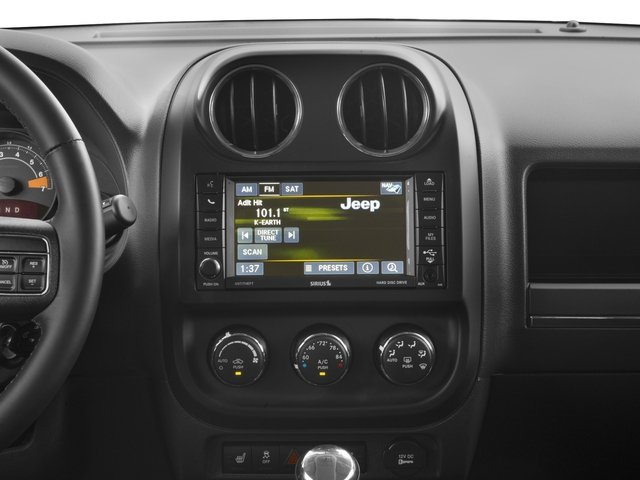 2017 Jeep Patriot Base Price Latitude FWD Pricing stereo system