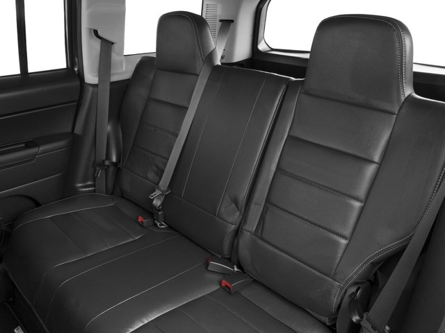 2017 Jeep Patriot Base Price Latitude FWD Pricing backseat interior