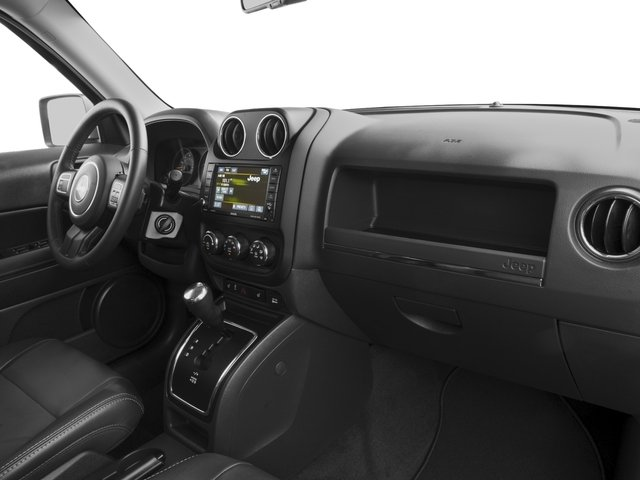 2017 Jeep Patriot Base Price Latitude FWD Pricing passenger's dashboard