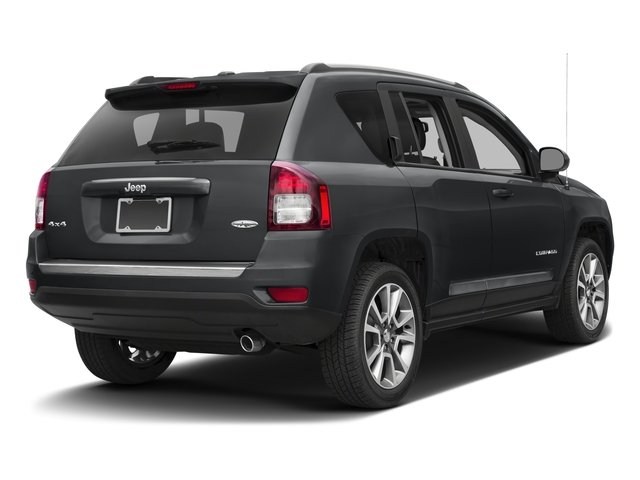 2017 Jeep Compass Prices and Values Utility 4D Sport 4WD side rear view