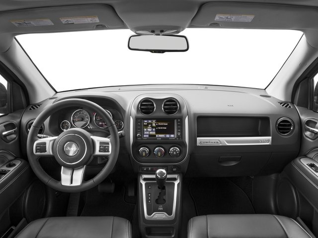2017 Jeep Compass Prices and Values Utility 4D Sport 4WD full dashboard