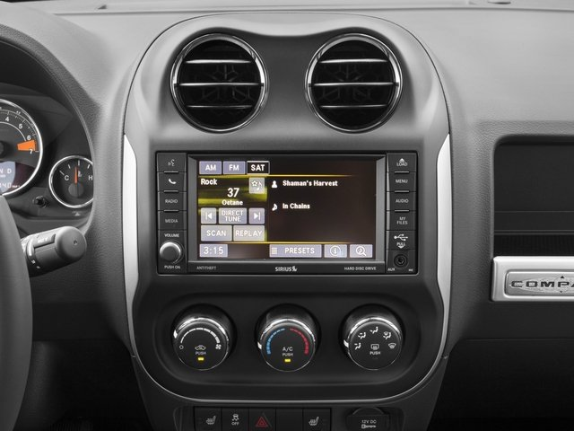 2017 Jeep Compass Prices and Values Utility 4D Sport 4WD stereo system