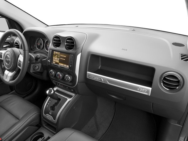2017 Jeep Compass Prices and Values Utility 4D Sport 4WD passenger's dashboard