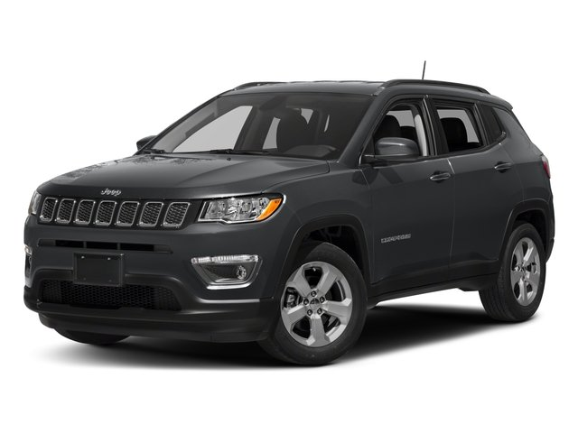2017 Jeep Compass Base Price Trailhawk 4x4 Pricing side front view