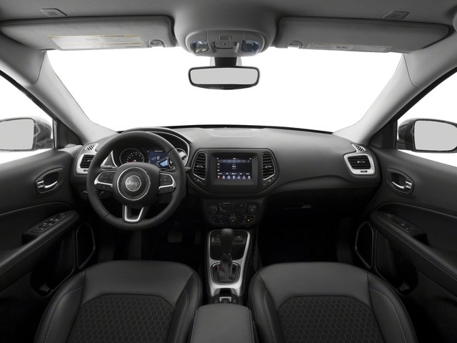 2017 Jeep Compass Base Price Latitude 4x4 Pricing full dashboard