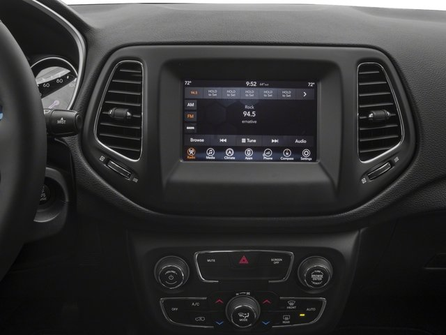 2017 Jeep Compass Pictures Compass Sport 4x4 photos stereo system