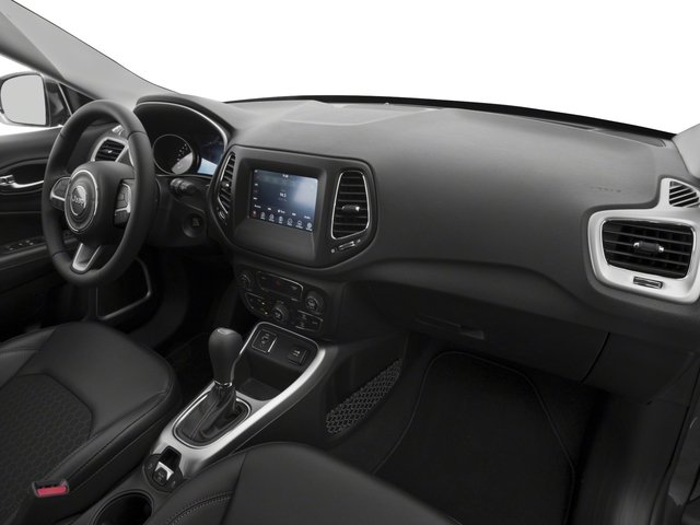 2017 Jeep Compass Base Price Latitude 4x4 Pricing passenger's dashboard