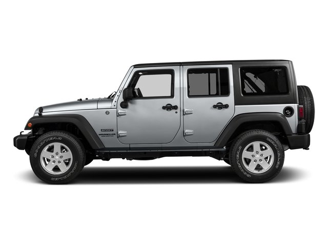 2017 Jeep Wrangler Unlimited Pictures Wrangler Unlimited Freedom 4x4 *Ltd Avail* photos side view
