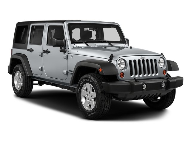 2017 Jeep Wrangler Unlimited Prices and Values Utility 4D Unlimited Sport 4WD V6 side front view