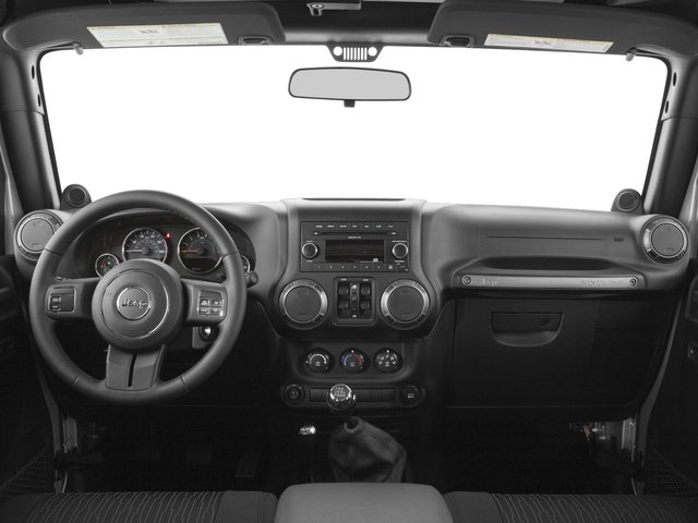 2017 Jeep Wrangler Unlimited Prices and Values Utility 4D Unlimited Sport 4WD V6 full dashboard