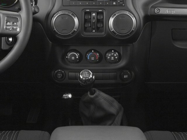 2017 Jeep Wrangler Unlimited Prices and Values Utility 4D Unlimited Sport 4WD V6 center console