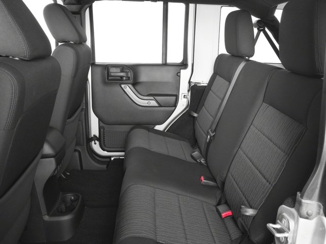 2017 Jeep Wrangler Unlimited Base Price Sport 4x4 Pricing backseat interior