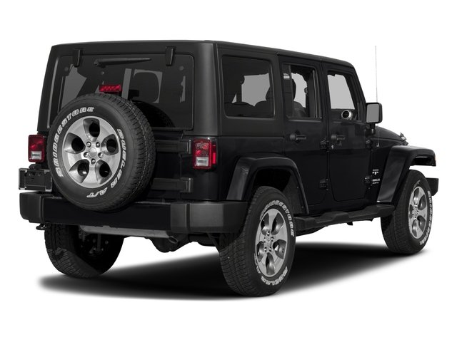 2017 Jeep Wrangler Unlimited Prices and Values Utility 4D Unlimited Sahara 4WD V6 side rear view