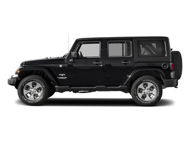 2017 Jeep Wrangler Unlimited Prices and Values Utility 4D Unlimited Sahara 4WD V6 side view