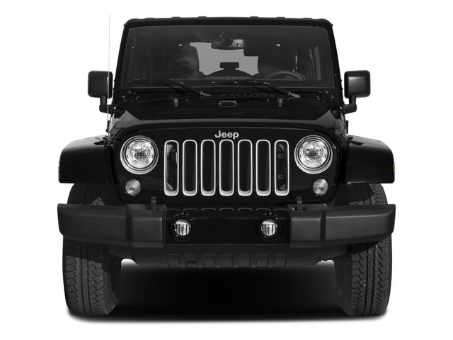 2017 Jeep Wrangler Unlimited Prices and Values Utility 4D Unlimited Sahara 4WD V6 front view
