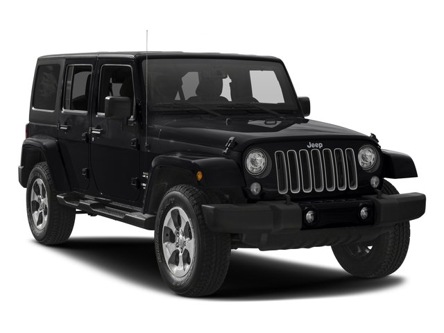 2017 Jeep Wrangler Unlimited Prices and Values Utility 4D Unlimited Sahara 4WD V6 side front view