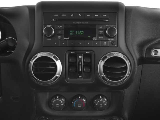 2017 Jeep Wrangler Unlimited Prices and Values Utility 4D Unlimited Sahara 4WD V6 stereo system
