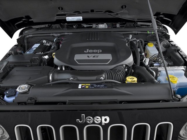 2017 Jeep Wrangler Unlimited Prices and Values Utility 4D Unlimited Sahara 4WD V6 engine