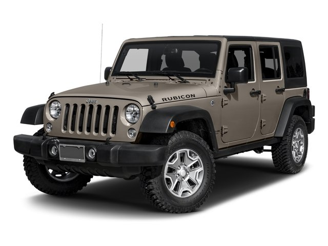2017 Jeep Wrangler Unlimited Prices and Values Utility 4D Unlimited Rubicon 4WD V6 side front view