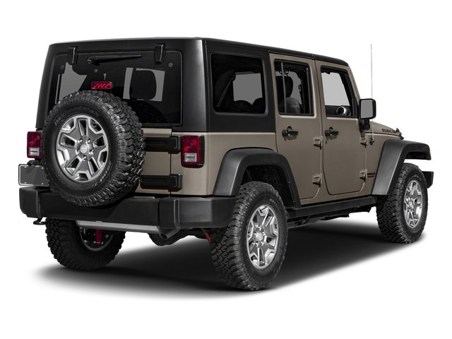 2017 Jeep Wrangler Unlimited Prices and Values Utility 4D Unlimited Rubicon 4WD V6 side rear view