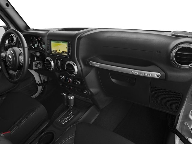 2017 Jeep Wrangler Unlimited Prices and Values Utility 4D Unlimited Rubicon 4WD V6 passenger's dashboard