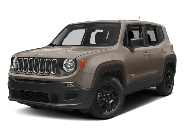 2017 Jeep Renegade Pictures Renegade Sport 4x4 photos side front view