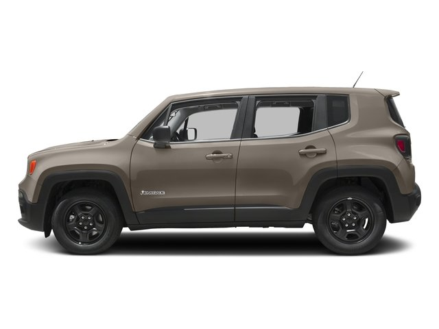 2017 Jeep Renegade Pictures Renegade Sport 4x4 photos side view