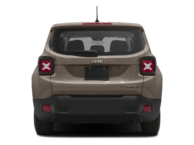 2017 Jeep Renegade Pictures Renegade Sport 4x4 photos rear view