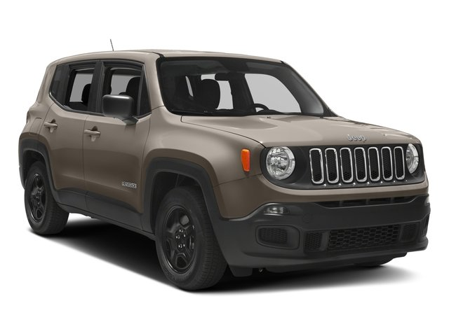 2017 Jeep Renegade Prices and Values Utility 4D Sport AWD side front view