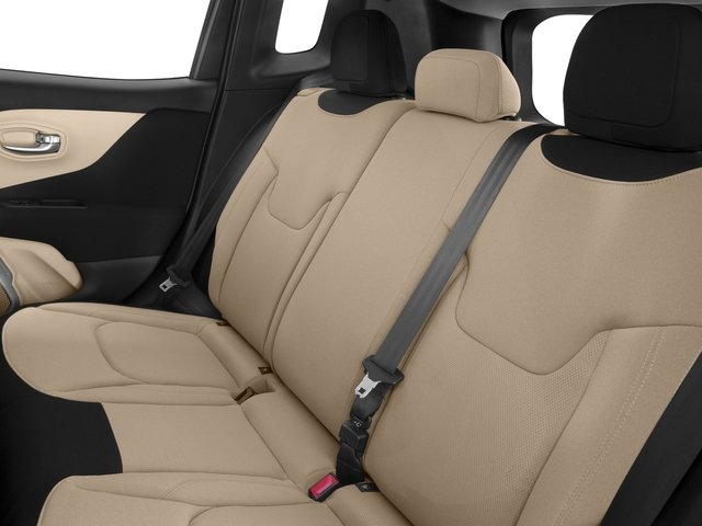 2017 Jeep Renegade Pictures Renegade Sport FWD *Ltd Avail* photos backseat interior