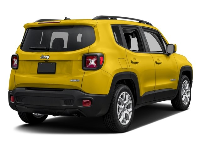 2017 Jeep Renegade Prices and Values Utility 4D Latitude AWD side rear view