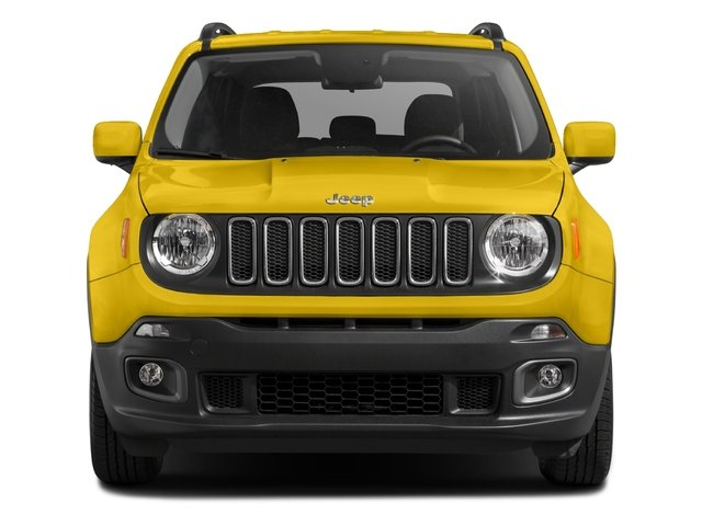 2017 Jeep Renegade Pictures Renegade Utility 4D Altitude 4WD photos front view