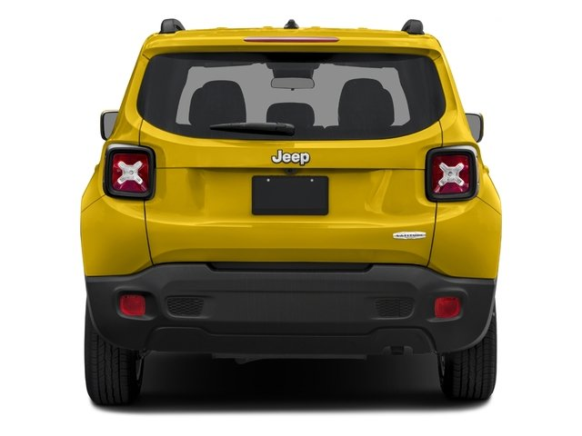 2017 Jeep Renegade Prices and Values Utility 4D Latitude AWD rear view